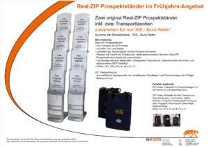 Angebot ZIP-Prospektständer