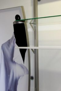 Ladenbau -Verkaufswand-Detail