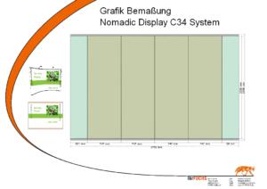 Bemaungsskitze - Nomadic Display c34